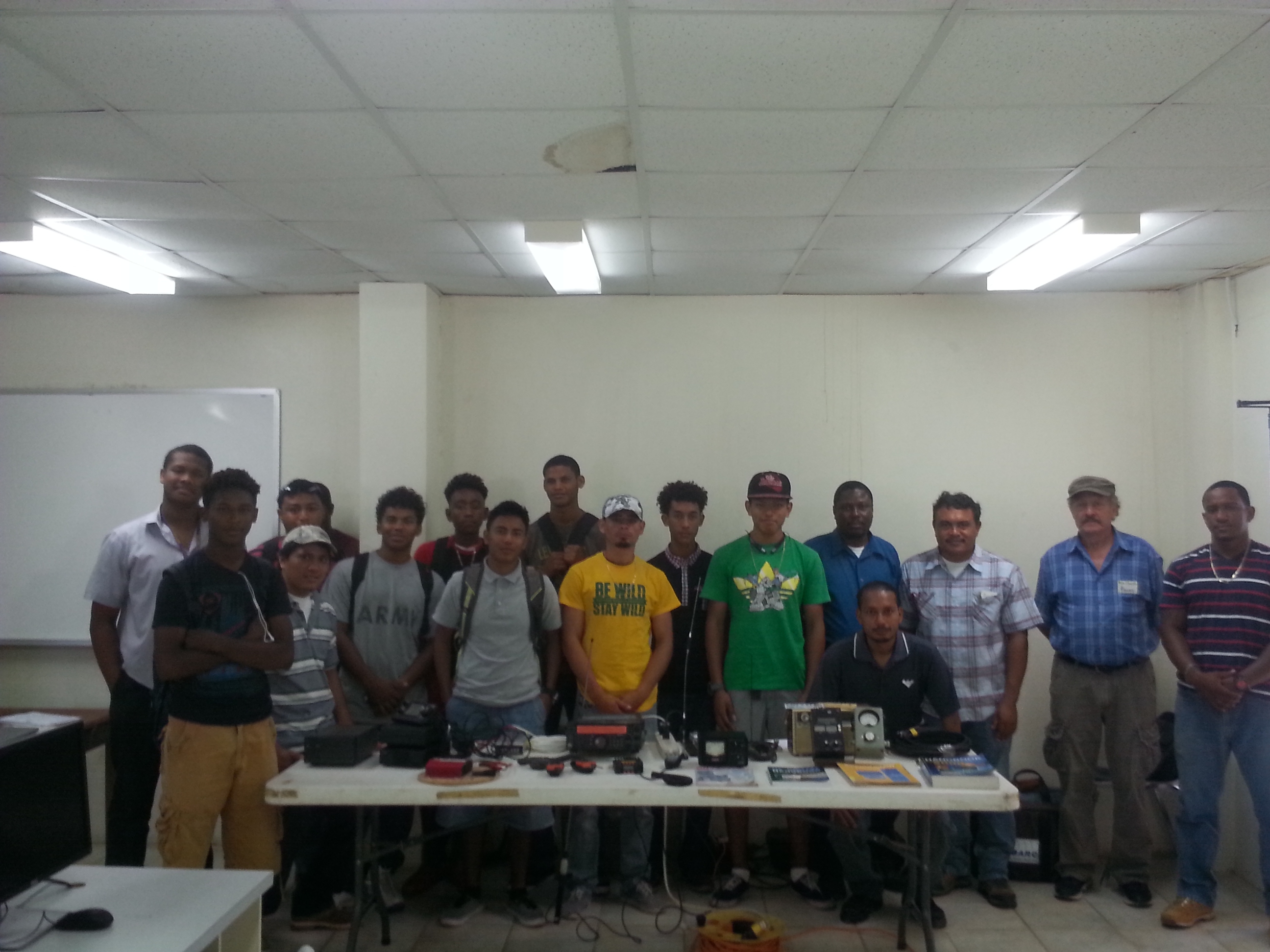 UB Engineering Students and BARC